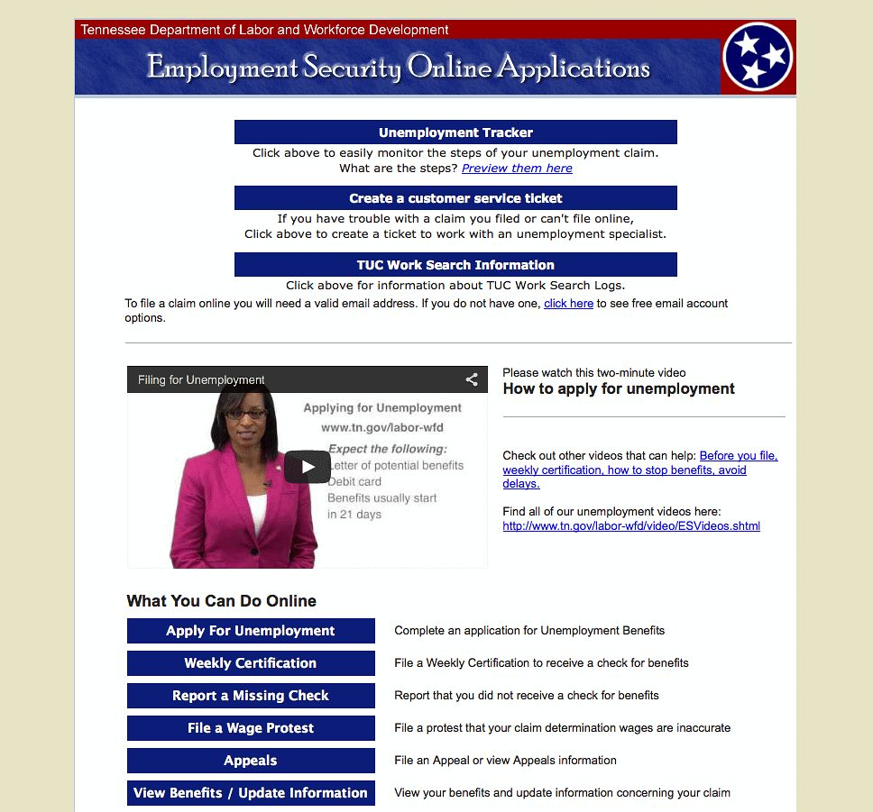Tennessee Department Of Labor Resume Help