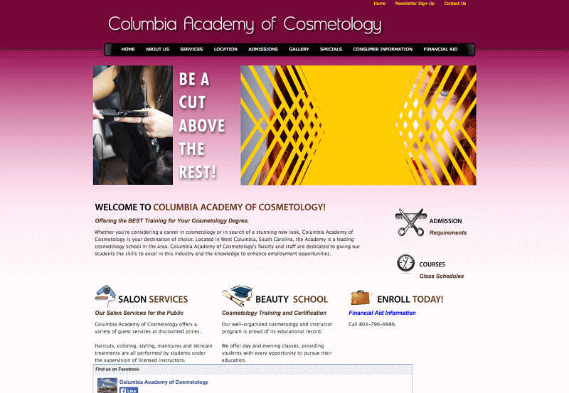 Columbia Academy of Cosmetology West Columbia, SC