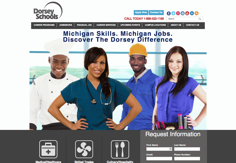Dorsey Culinary Academy in Roseville Michigan